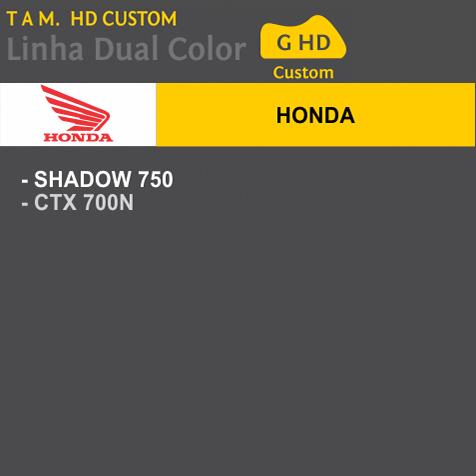 Capa Para Moto DualColor Honda Tam. G HD (permeavel)