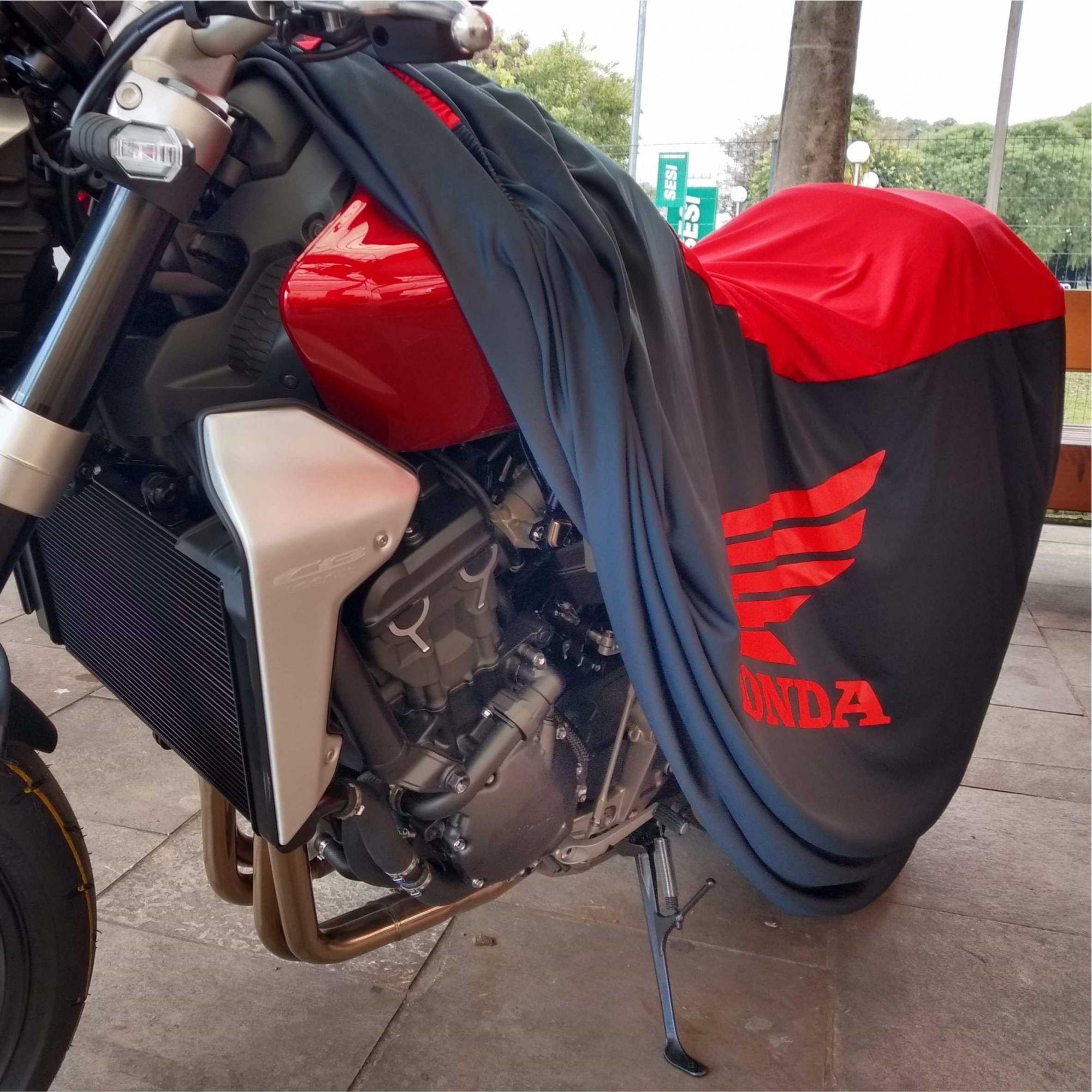 Capa Para Moto DualColor Honda Tam. M (permeavel)