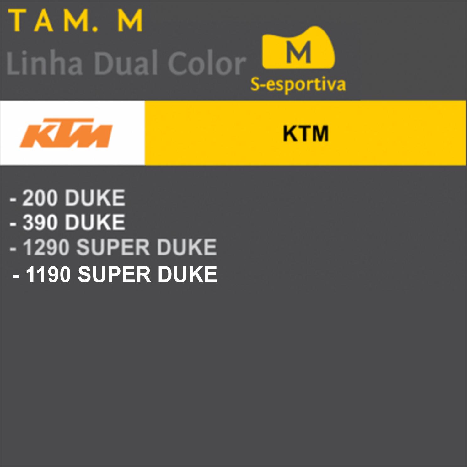 Capa Para Moto DualColor KTM Tam. M (permeavel)