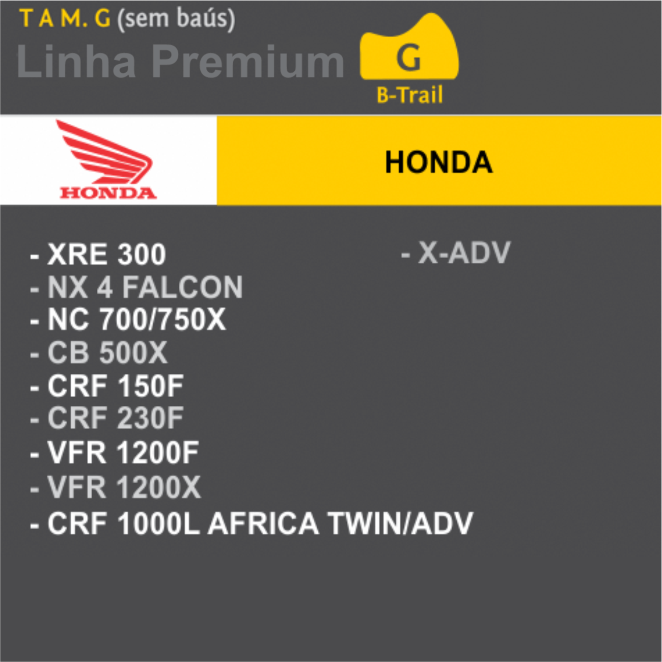 Capa Para Moto Premium Honda Tam. G (permeavel)