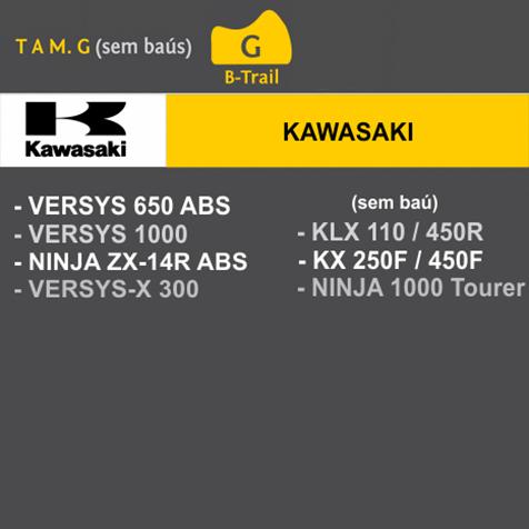 Capa Para Moto Premium Kawasaki Tam. G (permeavel)
