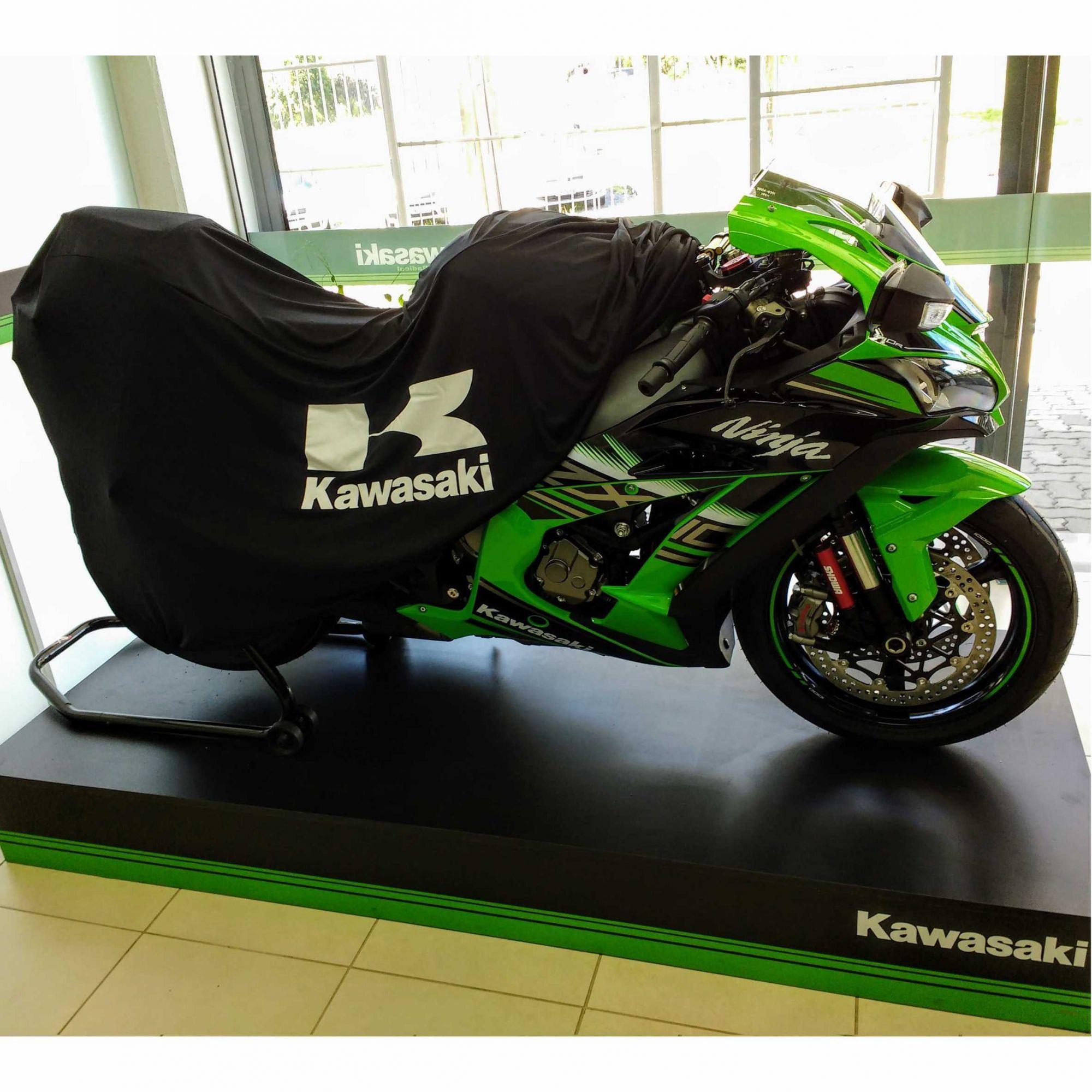 Capa Para Moto Premium Kawasaki Tam. M (permeavel)