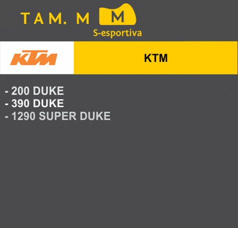 Capa Para Moto Premium KTM Tam. M (permeavel)