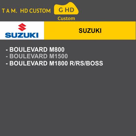 Capa Para Moto Premium Suzuki Tam. G HD (permeavel)
