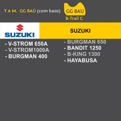 Capa Para Moto Premium Suzuki Tam. GG BAÚ (permeavel)