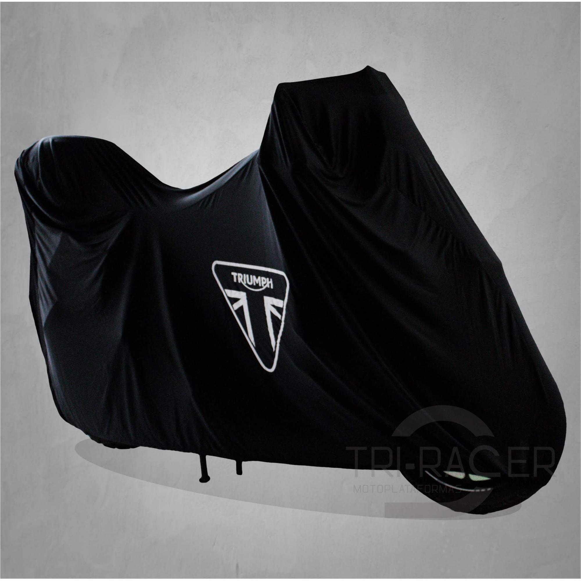 Capa Para Moto Premium Triumph Tam. GG BAÚ (permeavel)