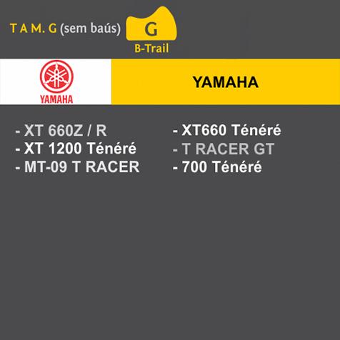Capa Para Moto Premium Yamaha Tam. G (permeavel)