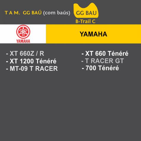Capa Para Moto Premium Yamaha Tam. GG BAÚ (permeavel)