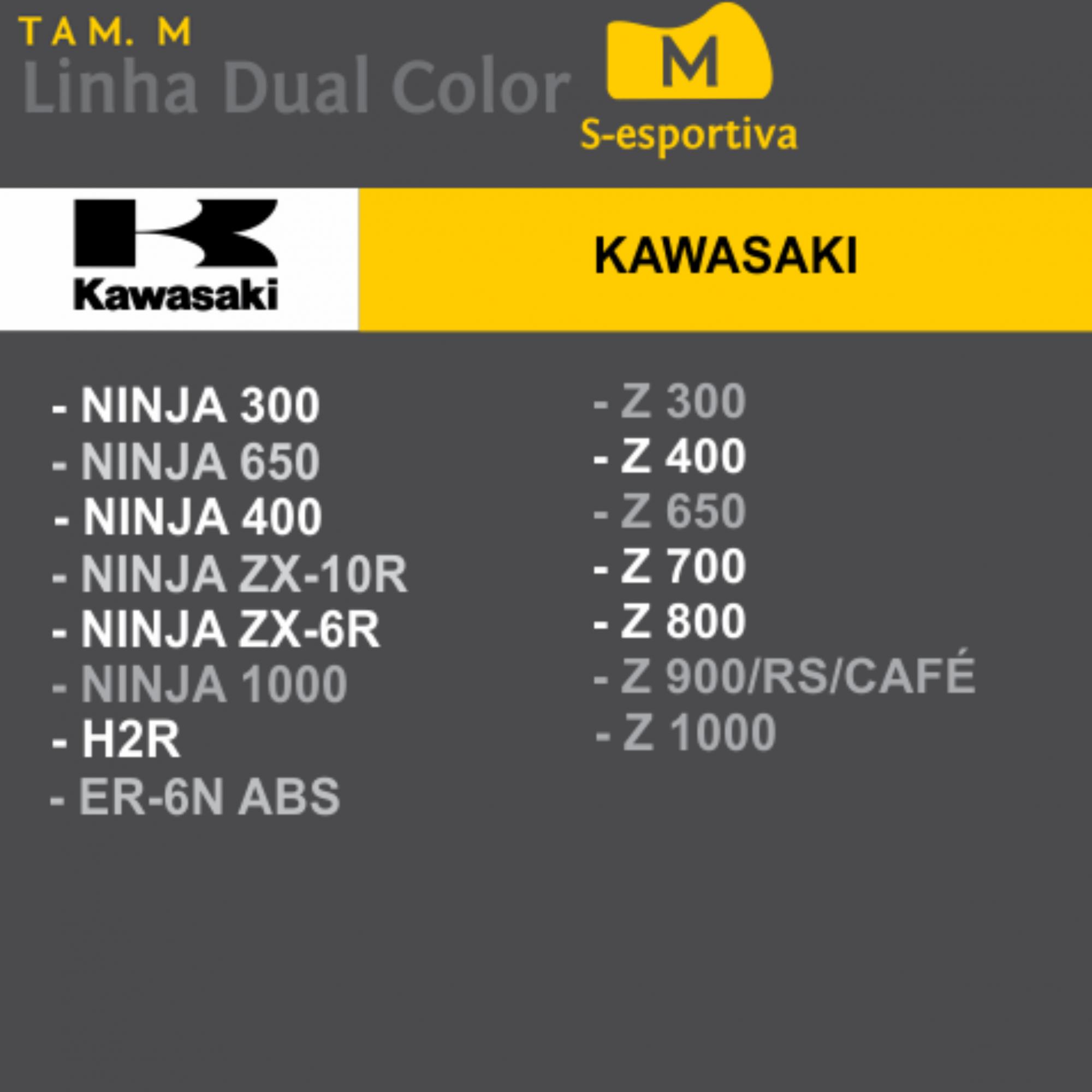Capa Para Moto SuperBike Kawasaki Tam. M (permeavel)