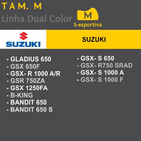 Capa Para Moto SuperBike Suzuki Tam. M (permeavel)