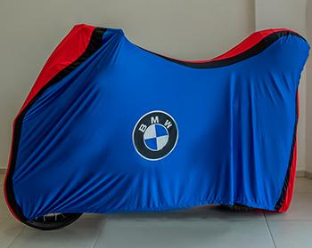 Capa Para Moto TriColor Bmw Tam. GG Baú (permeavel)