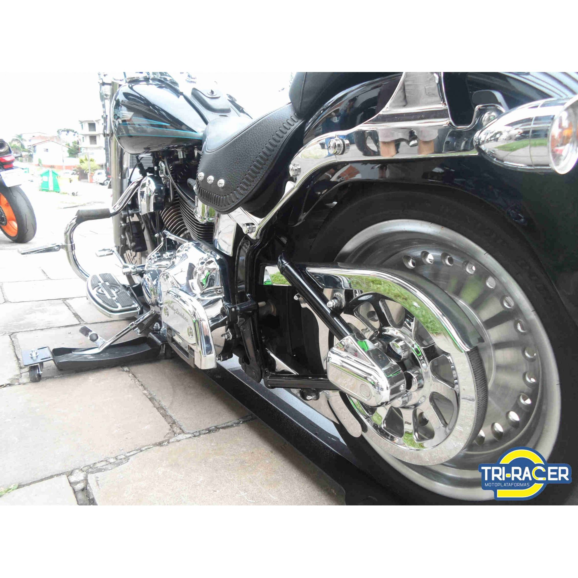 Moto Plataforma P/ Estacionar  Tr-4000 - até 400kg