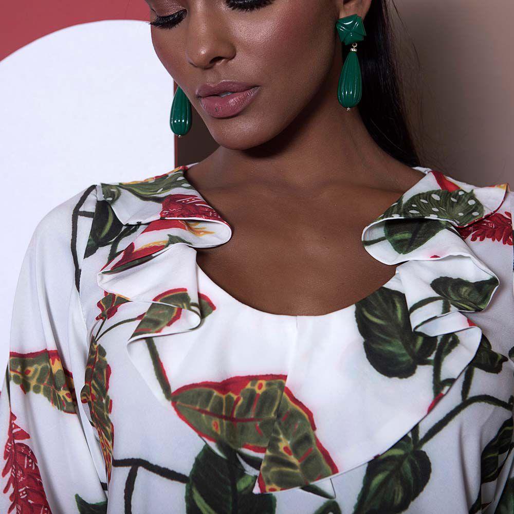 Blusa Floral Jabour