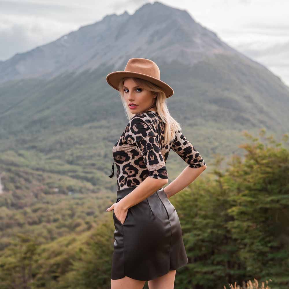 Body Animal Print Estampado