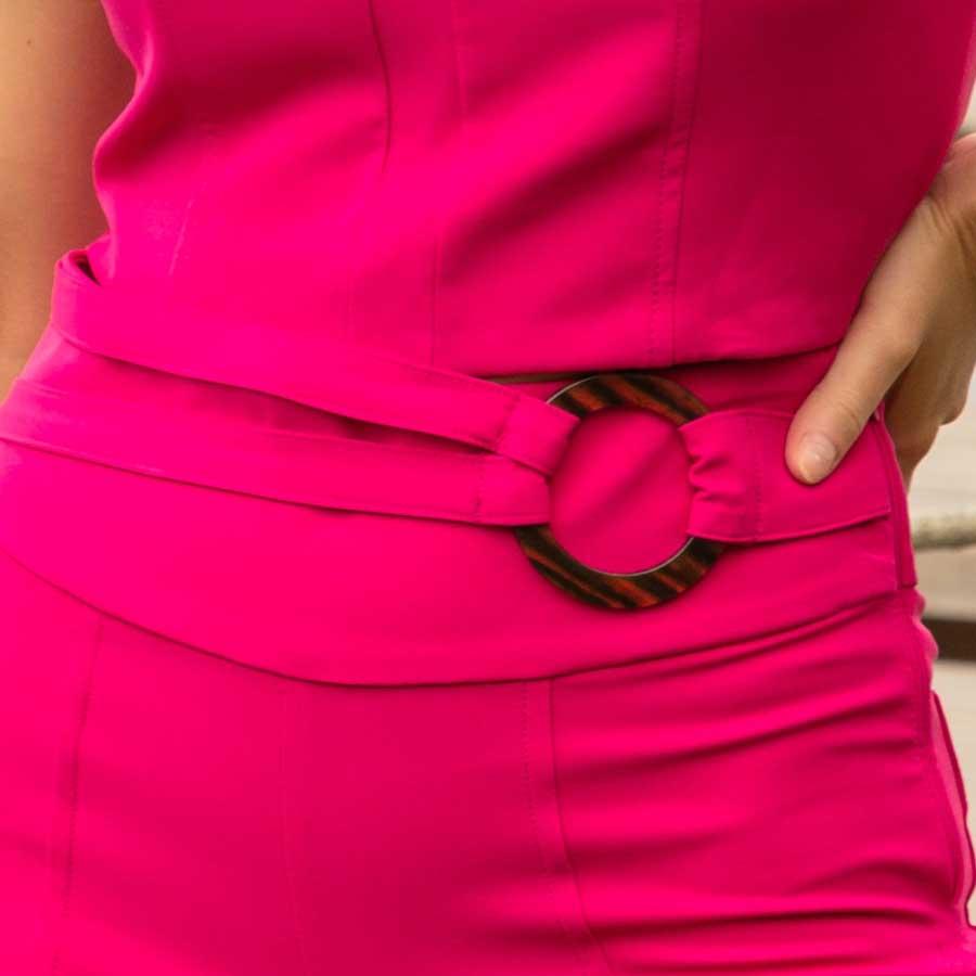 Calça Flare Pink