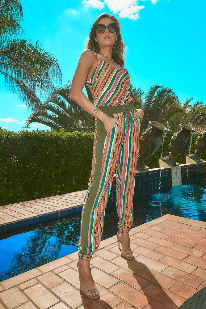 Calça Pijama Multicolorido