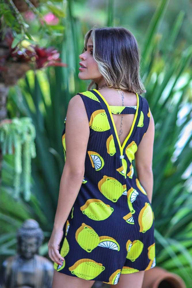 Macaquinho Canelado Limão