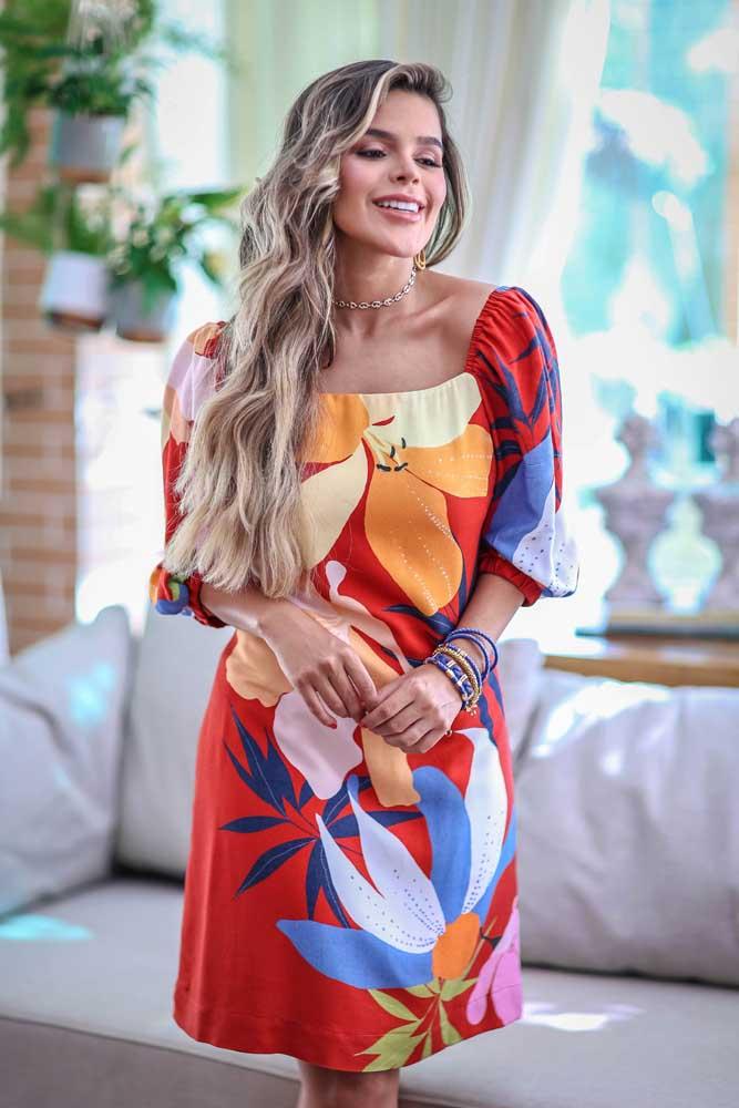 Vestido Amarração Costas