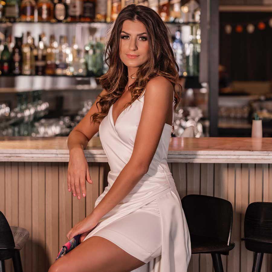 Vestido Longo Fenda Lateral Off-white