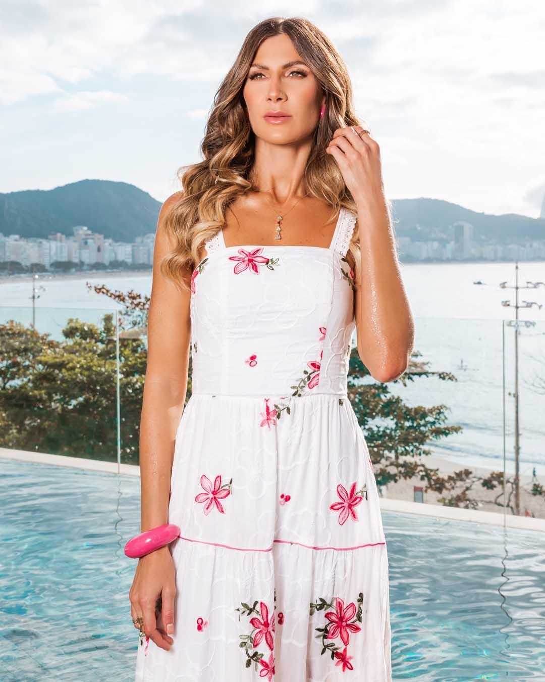 Vestido Longo Rio