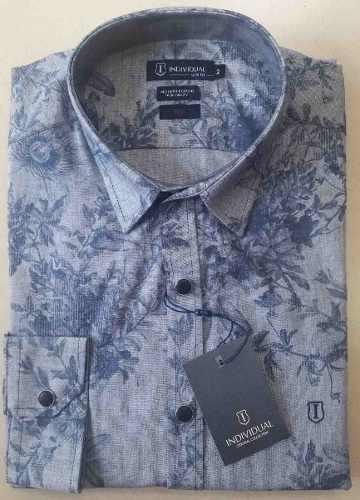 Camisa Masculina Slim Individual