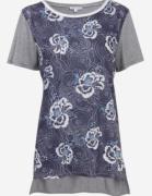 Blusa Camiseta T-shirt Alongada Mullet Dudalina