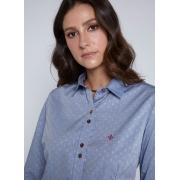Camisa Feminina Jaquard CutSoft Dudalina