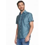 Camisa Masculina Meia Manga C/ Bolso Comfort Individual