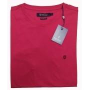 Camiseta Básica Slim Fit Pima Cotton Gola Redonda Individual
