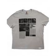 T-shirt Camiseta Estampada  Masculina JOHN JOHN