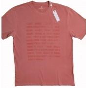 T-Shirt Camiseta Numérica Coral Dudalina