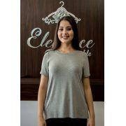 T-shirt Feminina Gola Cristal Dudalina