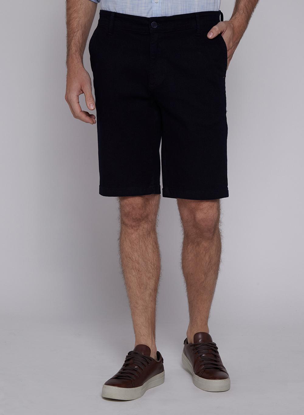 Bermuda Masculina Jeans Right Fit Bolso faca Individual