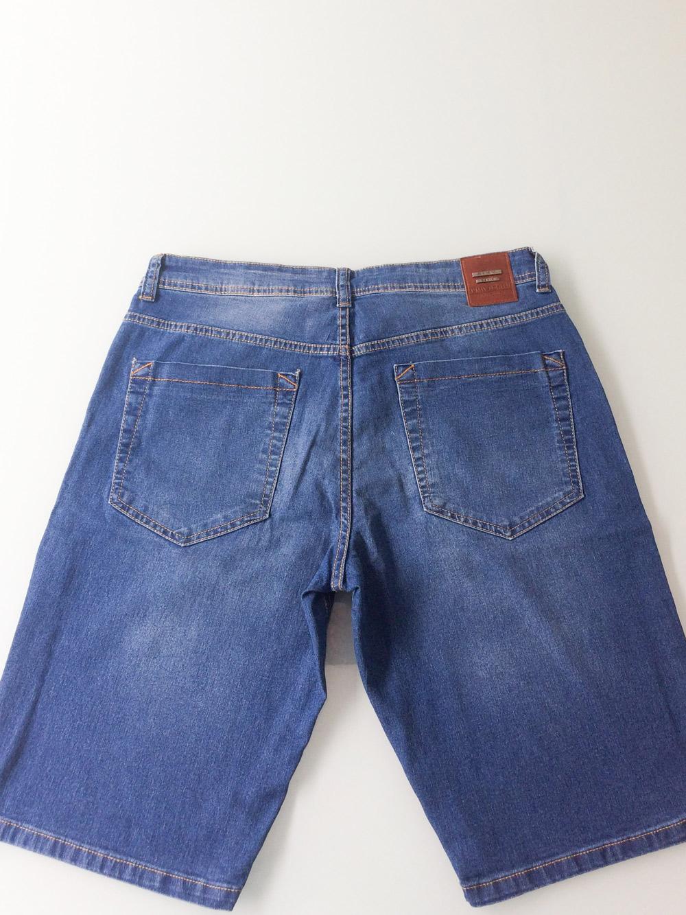 Bermuda Masculina Jeans Tradicional Robert Dimy