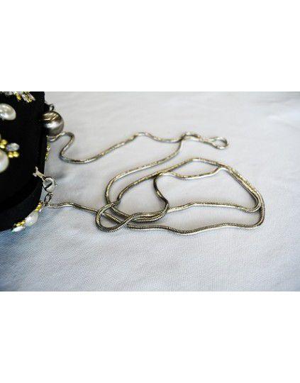 Bolsa Clutch  Bordada Pedrarias Capodarte