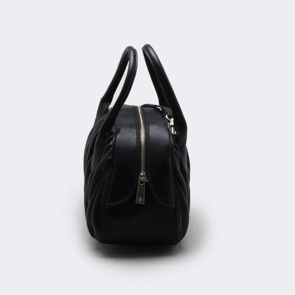 Bolsa Tote Bag Plissada Pelica Capodarte