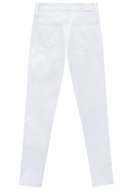 Calça Bali Cintura Alta Sarja Branca Lez a Lez