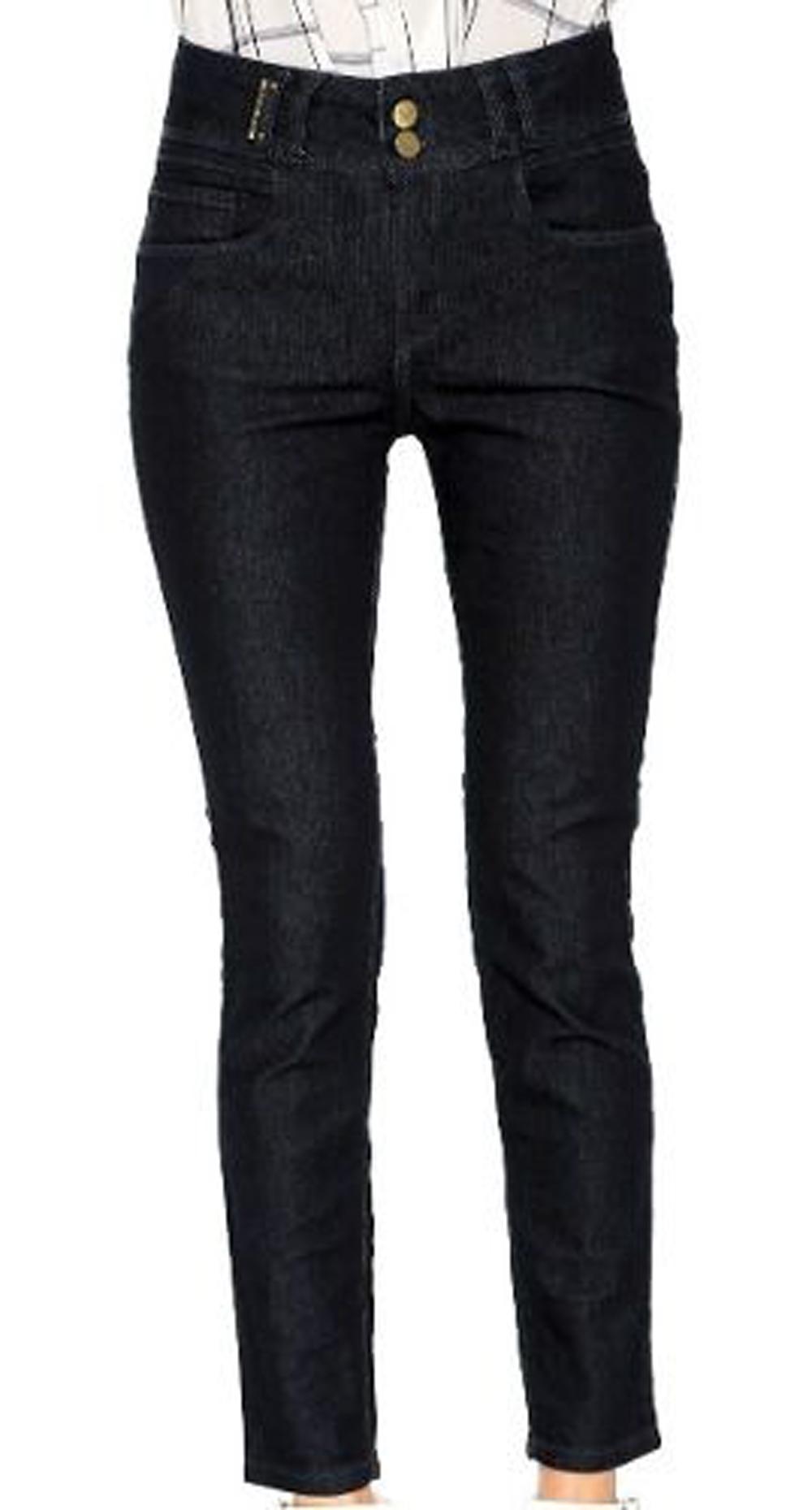 Calça Jeans Básica Skinny Lança Perfume