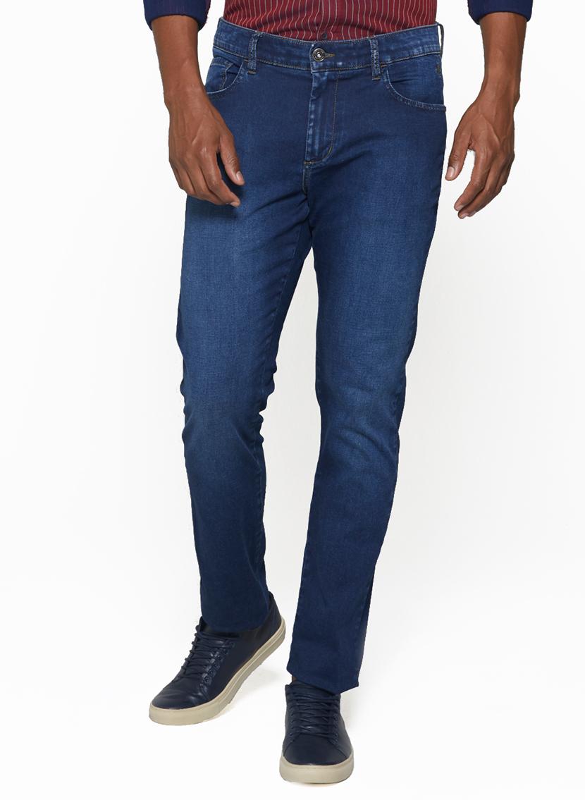 Calça Jeans Cetim Masculina slim Dudalina