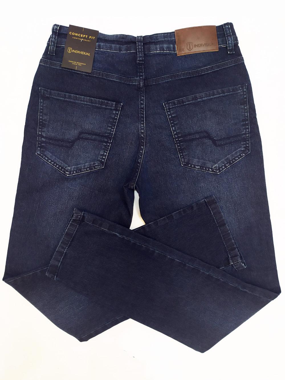 Calça Jeans Escuro Masculina Concept Fit Individual
