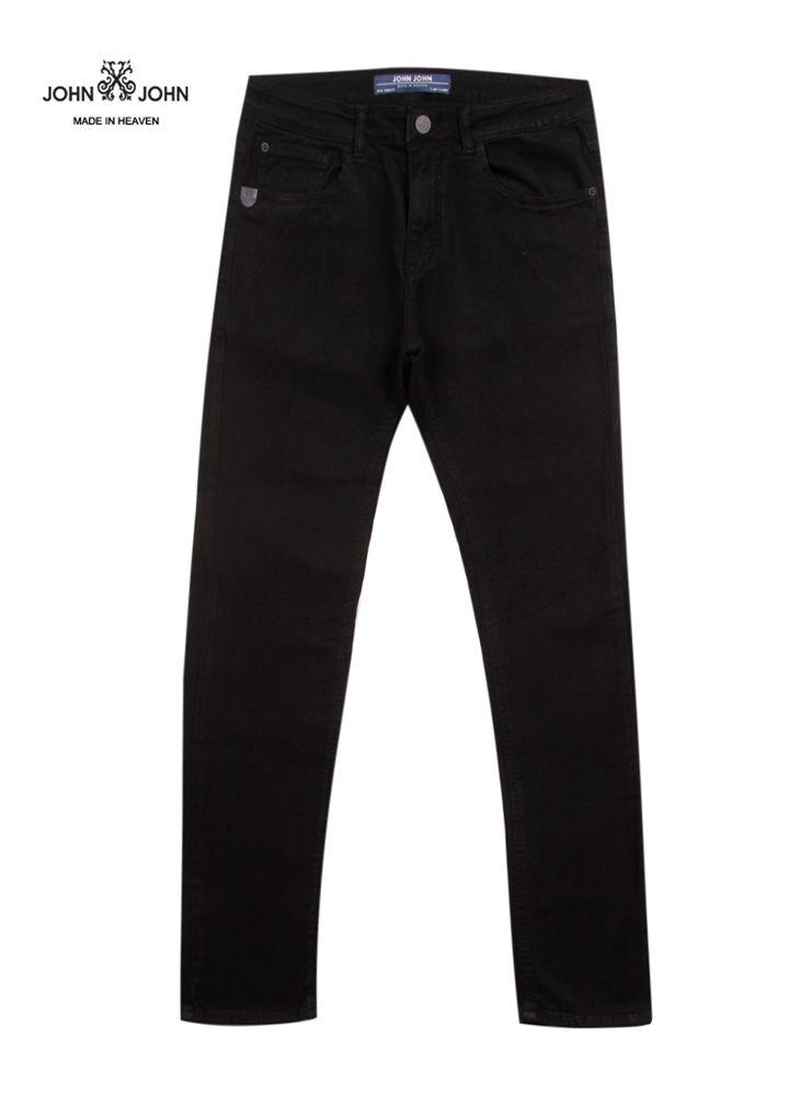 Calça Jeans Preta Masculina Skinny Kota JOHN JOHN