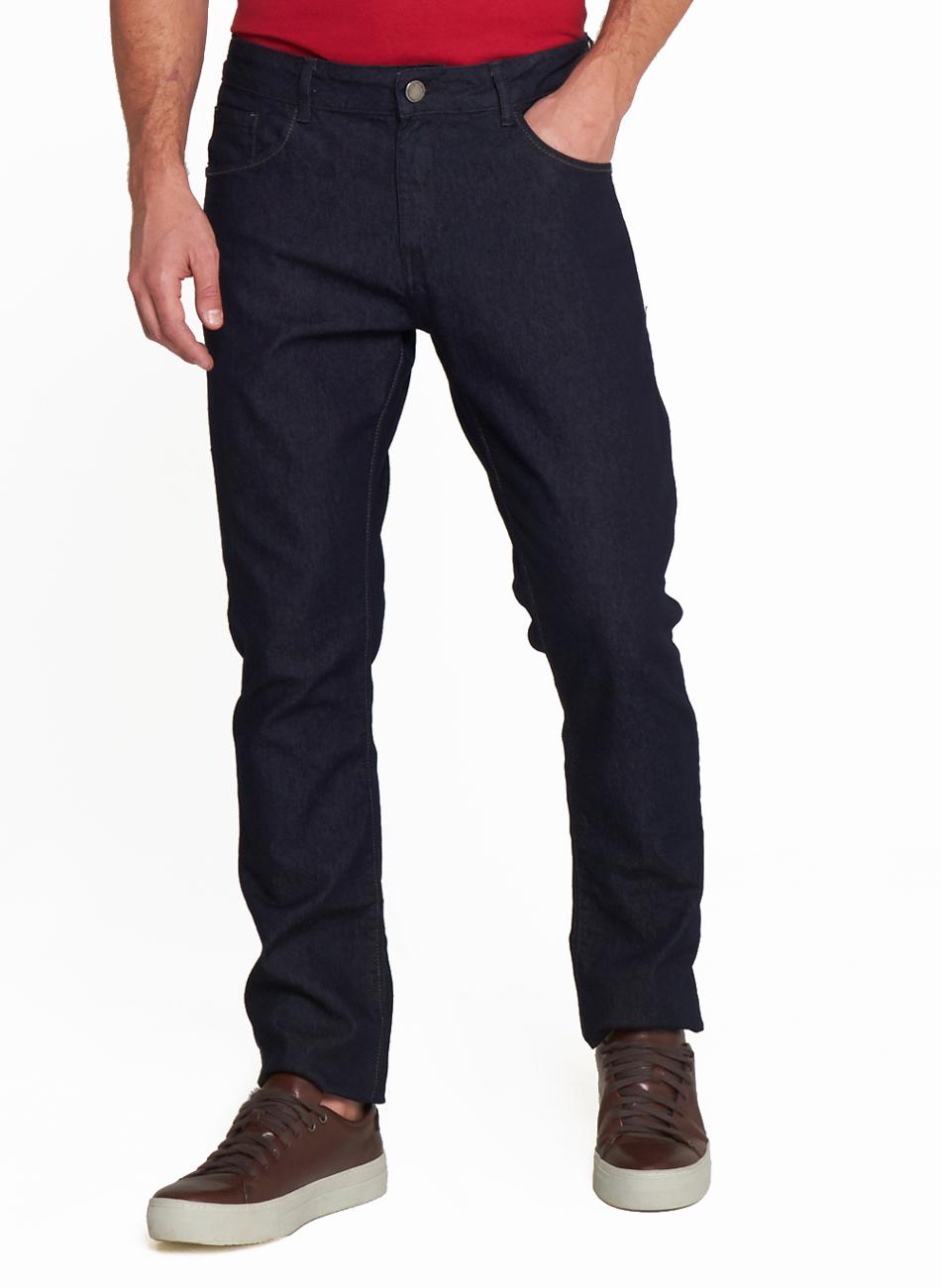 Calça Jeans Masculina Slim Five Pockets Individual