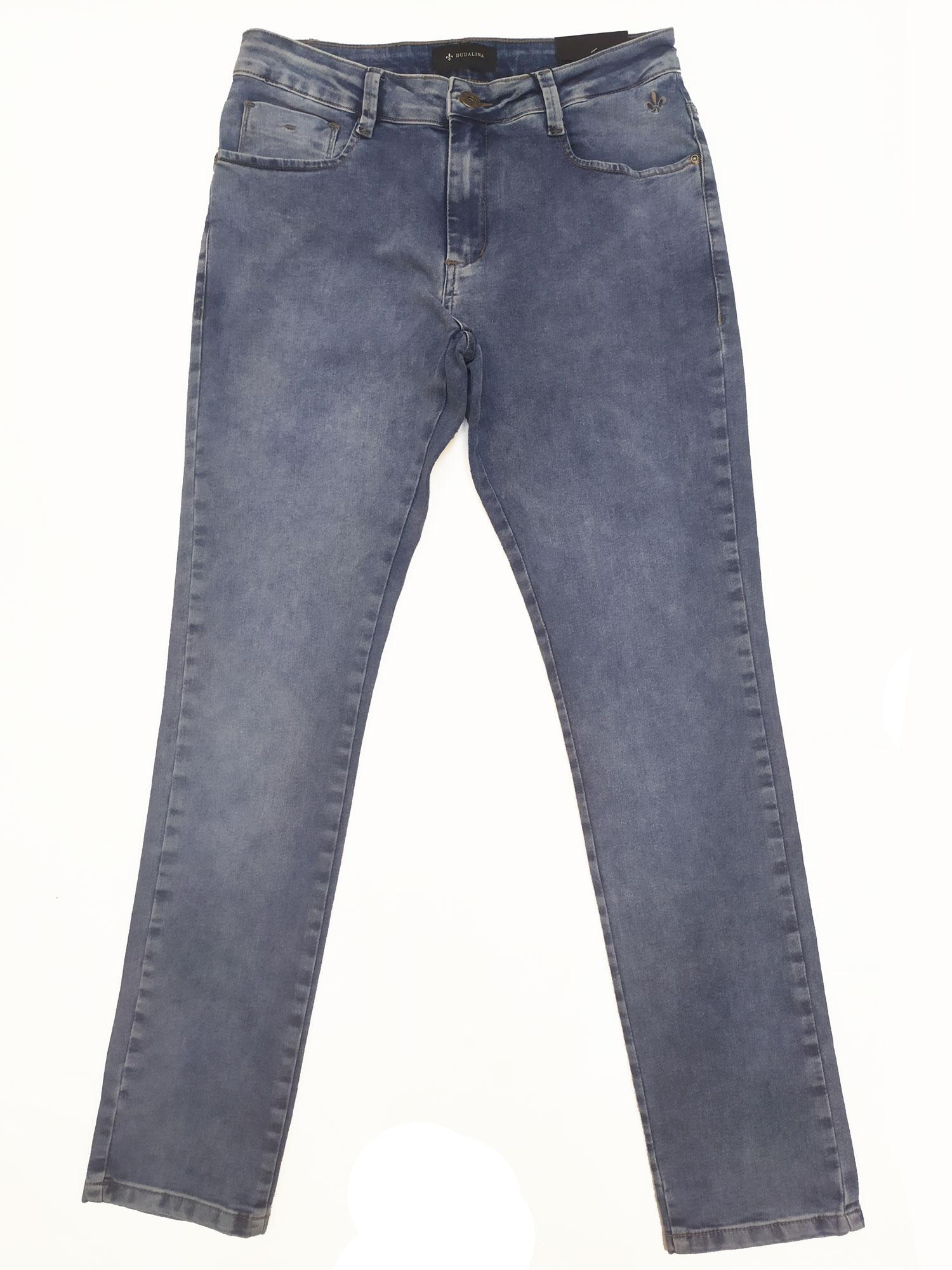 Calça Jeans Masculina slim Light Blue Dudalina