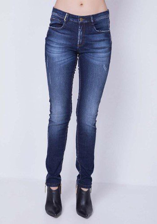 Calça Jeans Skinny Low Vênus Lança Perfume