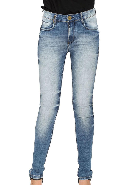 Calça Jeans Super High Skinny Estonada Lança Perfume