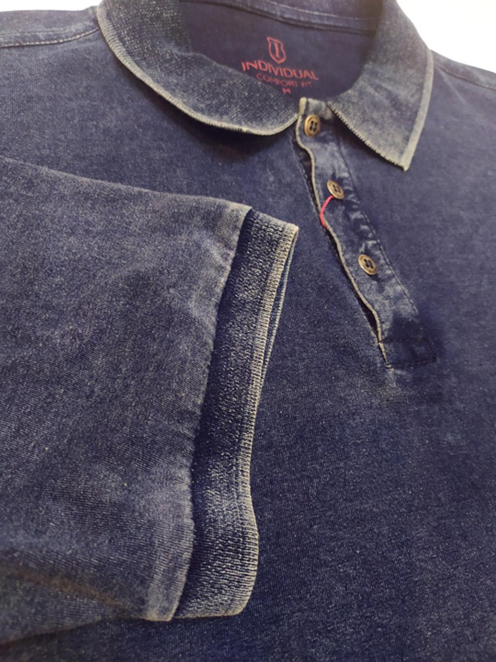 Camisa Gola Polo Masculina Lavagem Especial Individual