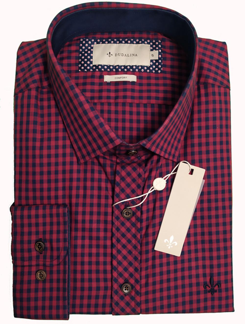 Camisa Masculina Comfort Xadrez Dudalina