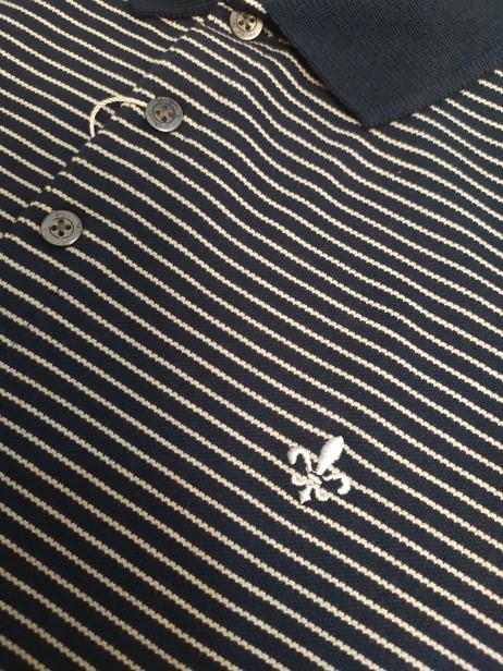 Camisa Masculina Gola Polo Listrada Stripes Dudalina