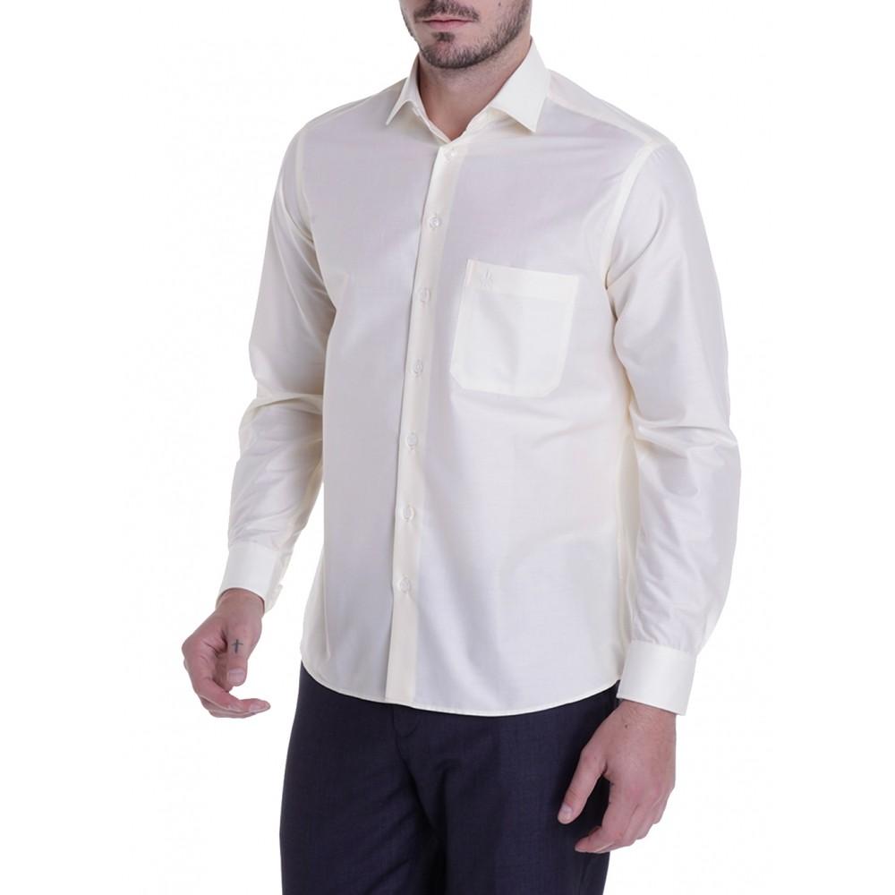 Camisa Masculina Lisa Comfort Dudalina