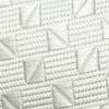 Branco textura mini xadrez